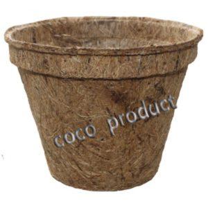Горшки из кокосового волокна