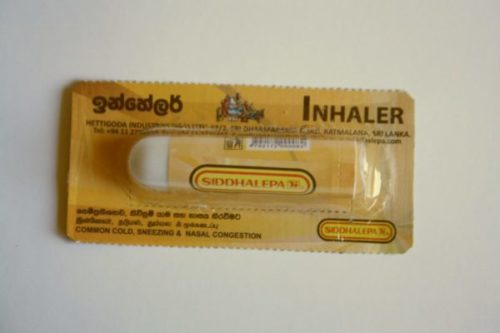Ингалятор Siddhalepa (Сиддхалепа)