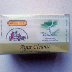 Травяной чай Ayur Cleanse