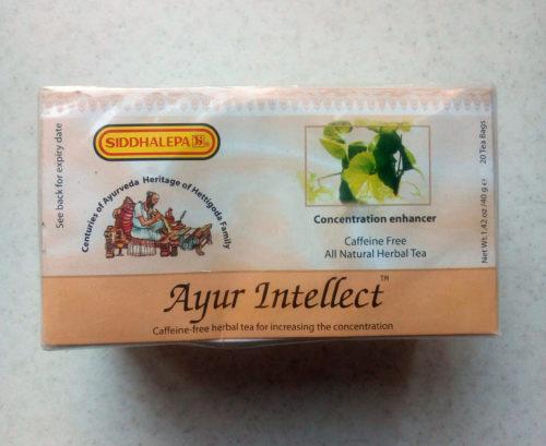 Травяной чай Ayur Intellect