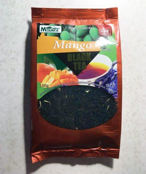 Чай черный Mounta с манго