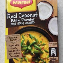 Кокосовое молоко сухое