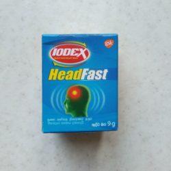 Бальзам Iodex против головной боли